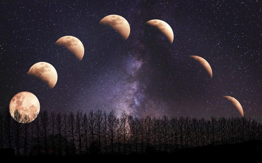 Pozicija ose Mesečevih čvorova u natalnom horoskopu